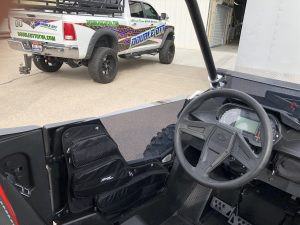 Polaris RS1 1000 Tinted Upper Doors