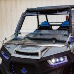 Polaris 1000 RZR Fold Down Windshield