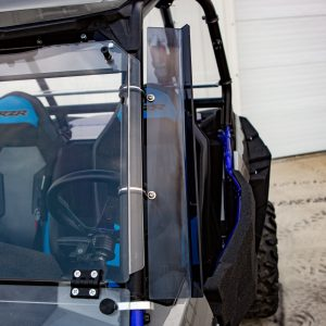 """23"""" Tinted Wind and Dust Deflector (Polaris Rzr)"""
